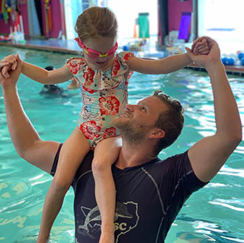 Clara had a scary encounter when she fell into the pool...her mom shared her story with us.