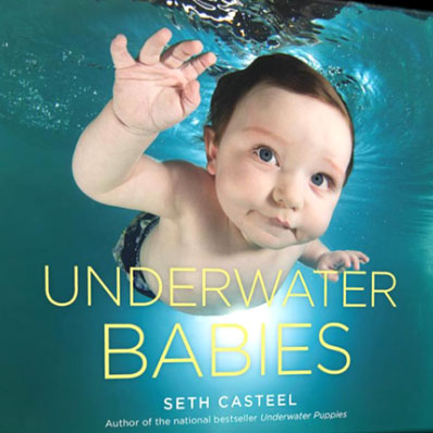 The newest release from Seth Casteel, Underwater Babies, is now available for sale in our front office.
